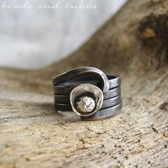 Copper and silver ring | Handmade by Beads and Tricks