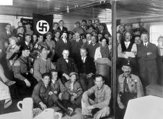February 20, 1933 – Adolf Hitler secretly meets with German industrialists to arrange for financing of the Nazi Party's upcoming election campaign.
