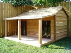 steel dog house design