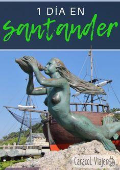 Guía de un día en Santander. #Cantabria #Santander #viajes #España #caracolviajero Bilbao, Santander Spain, Madrid, Spain Travel Guide, Belle Villa, Basque Country, Where To Go, Places To See, Travel Destinations
