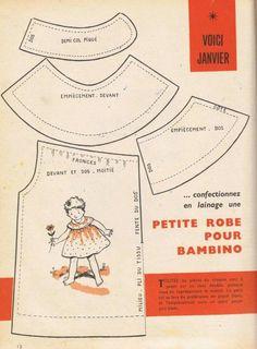 Une robe pour Bambino