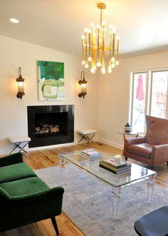 Colorful Living Room Design // Austin Bean Design Studio