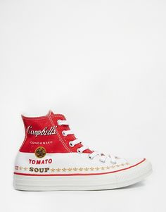Converse Warhol Chuck Taylor High Top Trainers