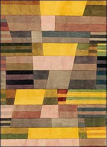Monument in the Fertile Country, 1929. Watercolour and pencil on paper. Courtesy of Zentrum Paul Klee