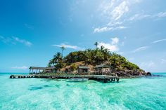 Cheeks of the Gringo by Marc Perrotta Ilhas Raja Ampat, Santorini, Parque Natural, Hotel Motel, Crystal Clear Water, Island Life, Landscape Photos, Bed And Breakfast, Beautiful Landscapes