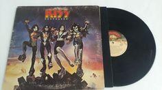 KISS Destroyer Touch My Vinyl Lp LPS Albums Album Record Records VG