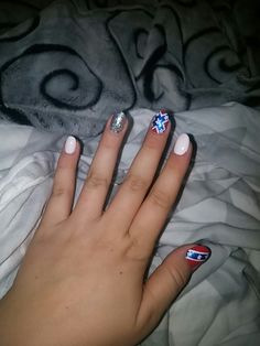 Rebel flag nail....just rippin