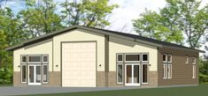 PDF house plans, garage plans, & shed plans. Tiny House Plans, Modern House Plans, House Floor Plans, The Plan, How To Plan, Faux Brick Panels, Brick Paneling, Pole Barn Construction, Tyni House