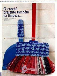 kit de limpeza | croche croche