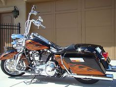 harley road king 2014 flames - Google Search