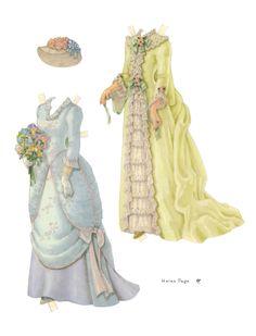 Paper Doll by Helen Page | Gabi's Paper Dolls