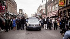 Blues legend B.B. King honored with Memphis processional - CBS News
