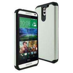 HTC DESIRE 610 CASE, ARMOR DUAL LAYER PROTECTOR COVER (WHITE)    #cellphonegadgets #mobileaccessories www.kuteckusa.com