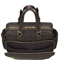 Louis Vuitton diaper bag - for the vogue mom!