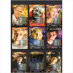 Doctor Who Battles in Time Devastator series 9 assorted trading cards
