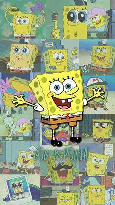 Spongebob Iphone Wallpaper, Iphone Cartoon, Emoji Wallpaper, Cute Disney Wallpaper, Wallpaper Iphone Cute, Screen Wallpaper, Cute Patterns Wallpaper, Cute Wallpaper Backgrounds, Cute Cartoon Wallpapers