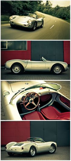 JAMES DEAN FOREVER Porsche 550 Spyder Did you know that Dean paid $7,500 for his…