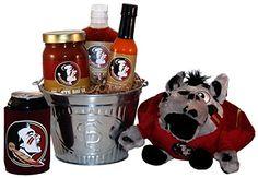 Florida State University Tailgate Grilling Gift Basket - Large
