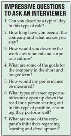 Resume Tips : Great Questions to ask the interviewer during a job interview. Still feeling a little rusty on the whole job searching process? No problem. GO Charleston Deals has a great deal on Interview Coaching just for you! Job Interview Tips, Job Interview Questions, Job Interviews, Interview Coaching, Interview Techniques, Teaching Interview, Preparing For An Interview, Job Interview Makeup, Job Interview Preparation