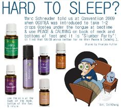 Sleep deeply with essential oils.
