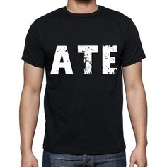 #black #tshirt #word #ate #men  This weekend you will need a quality t-shirt. Let's shop! --> https://www.teeshirtee.com/collections/collection-3-letters-black-1/products/ate-men-t-shirts-short-sleeve-t-shirts-men-tee-shirts-for-men-cotton-black