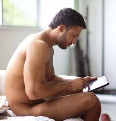 Men and iPads