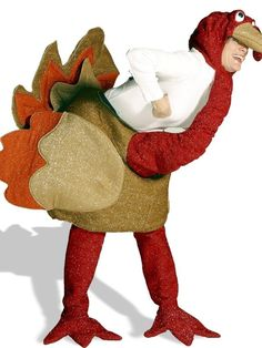 Halloween Turkey Costume for Adults