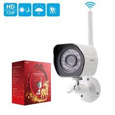 2pc Zmodo 720p HD Outdoor Home Wifi Security Surveillance Video Camera