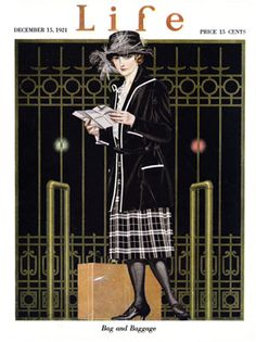 1921 Coles Phillips - Bag And Baggage