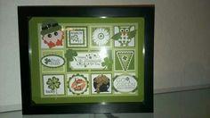 St Patricks Day Cards, Saint Patricks, Collage Ideas, Collage Frames, Valentines Frames, Square Art, Calendar Ideas, Holiday Crafts, Trays