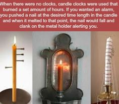 Old fashioned alarm clocks