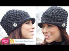 De la Mujer Crochet pico Cap + Tutorial - El ganchillo Multitud