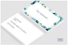 Banana Leaf Crush Business Card Template by on Envato Elements Professional Logo Design, Professional Business Cards, Business Stationary, Card Making Designs, Creative Photoshop, Logo Design Template, Card Templates, Print Templates, Card Sizes