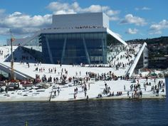 One of the coolest, if not the coolest buildings I've ever seen. Operahouse, Oslo | Norway
