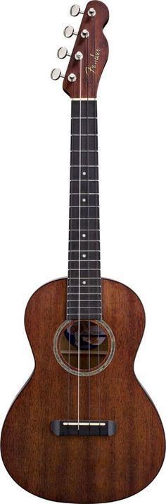 Fender Ukulele Hau'oli Mahogany Tenor Ukulele