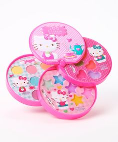 Another great find on #zulily! Hello Kitty Makeup Kit by Hello Kitty #zulilyfinds