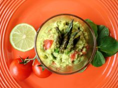 Chipotle Guacamole -- love the smoky heat that chipotle adds here.