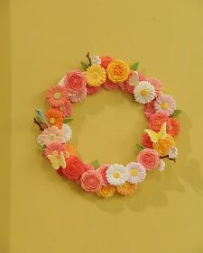 """Brighten your mom's day with this colorful clay floral decoration how-to from artist Yukiko Miyai, as seen on """"The Martha Stewart Show."""""""