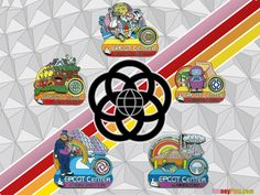 Epcot pin collection