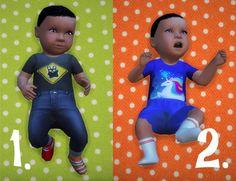 Baby Overrides: Set 2- Medium Skin/Boy/Blue Eyes at Budgie2budgie via Sims 4 Updates