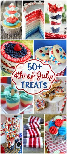 best of July Treats - the best patriotic recipes, perfect for of July, Memorial Day or anything celebrating red, white & blue. The favorites of USA Freedom Kids Patriotic Desserts, 4th Of July Desserts, Fourth Of July Food, 4th Of July Celebration, Patriotic Party, 4th Of July Party, July 4th, Blue Desserts, Patriotic Crafts