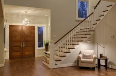 Woodinville Retreat - contemporary - entry - seattle - Shuffle Interiors