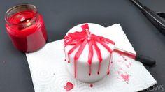 Decoración Halloween: Como hacer velas sangrientas http://icono-interiorismo.blogspot.com.es/2015/10/decoracion-halloween-como-hacer-velas.html