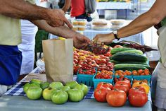 Farmers Markets in Frederick County Maryland. Lists of all Maryland Farmers Markets, a Farmers Market Cookbook, and reasons why buying from local farmers markets is so much better than the grocery store!