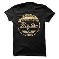 (Tshirt Perfect Sale) Heraklion Greece- Its where my story begins Coupon Today Hoodies, Tee Shirts