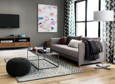 mill coffee table  | CB2