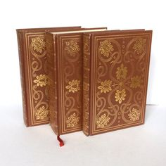 Gorgeous vintage book set $28.95 at My Booklandia on Etsy https://www.etsy.com/listing/513551073/international-collectors-library-set #decorativebooks #internationalcollectorslibrary #brownbooks #bookshelfdecor