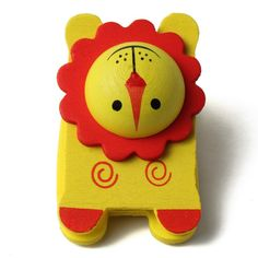 My Party Suppliers Wooden Cartoon Staplers / Designer Staples for Kids / Animal Shaped Staplers: Amazon.in: Office Products