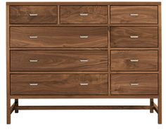 Berkeley Wood Dressers - Modern Dressers - Modern Bedroom Furniture - Room & Board