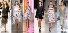 Spring 2015 runway looks from Sonia Rykiel, Pucci, Preen by Thornton Bregazzi, Isabel Marant, Marco De Vincenzo and Proenza Schouler. Photos: Imaxtree